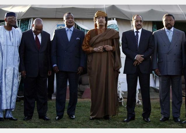 muammar-gaddafi-meets-african-union-delegation