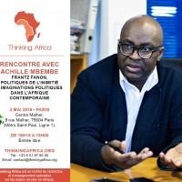 Rencontre TA avec Achille Mbembe – 4 Mai 2016 à Paris