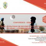 Conférence : Repenser la politique de Reconstruction Post-Conflit au Sahel | 20 janvier 2020 à Bamako