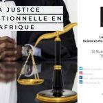 Conférence: La justice transitionnelle en Afrique | 9 mars 2020 à Paris